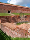 City walls in Zamosc, Poland Royalty Free Stock Images