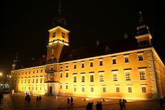 City of Warsaw Royalty Free Stock Image