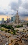 City of Warsaw, Poland Royalty Free Stock Image