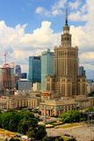 City of Warsaw - Skyscrapers Stock Photography