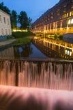 City water cascade Royalty Free Stock Photo