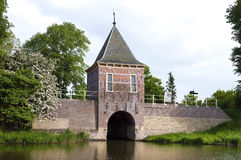 City and water gate Oude Gouwsboom in Enkhuizen Stock Photos