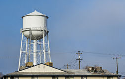 City Water Tower Stock Photo