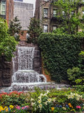 City Waterfall in Park Royalty Free Stock Images
