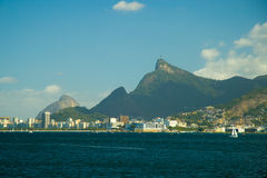 City at the waterfront, Rio De Janeiro Stock Photography