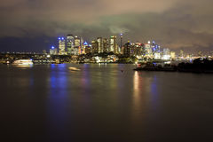 City Waverton Night 2 Royalty Free Stock Images