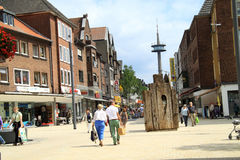 City Wesel germany Royalty Free Stock Image