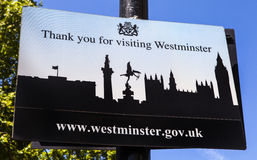 City of Westminster Royalty Free Stock Photography