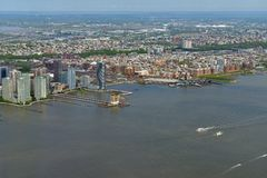 Free City Wiew On Hudson Waterfront. Hudson County, County In U.S. State Of New Jersey Stock Image - 149450691