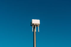City wifi router. The street transmitter of the Internet signal. Royalty Free Stock Photography