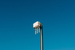 City wifi router. The street transmitter of the Internet signal. Royalty Free Stock Image