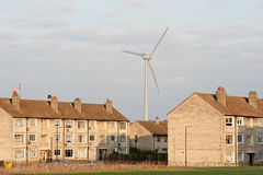 City wind turbine Royalty Free Stock Photos