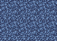 City winter camouflage seamless pixel pattern. Vector illustration Royalty Free Stock Photo