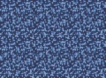 City winter camouflage seamless pixel pattern Royalty Free Stock Photo