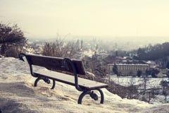 City at winter - Prague,  Royalty Free Stock Photos