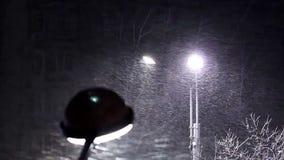 City winter stock video footage