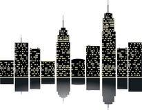 Free City With Silhouete Stock Photos - 94544843