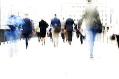 City workers Stock Images