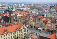 City of Wroclaw, Poland Royalty Free Stock Photo