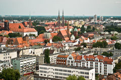 City of Wroclaw, Poland Stock Photography