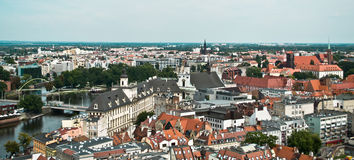 City of Wroclaw, Poland Stock Images