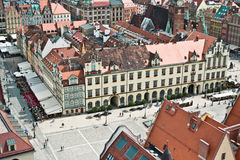 City of Wroclaw, Poland Stock Image