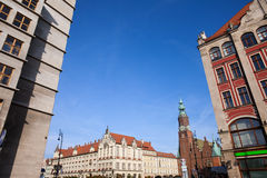 City of Wroclaw Royalty Free Stock Photos