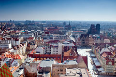 City of wroclaw Royalty Free Stock Image