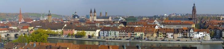 City Wuerzburg Stock Photos