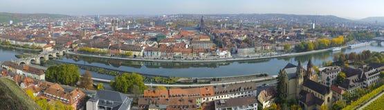 City Wuerzburg Stock Photo