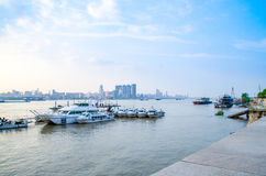 City of Wuhan, China stock image
