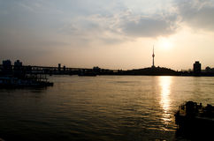 City of Wuhan, China Stock Photography