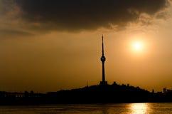 City of Wuhan, China royalty free stock image