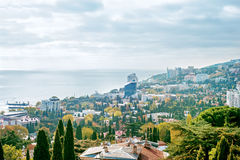 The city of Yalta. Crimea. Royalty Free Stock Photo