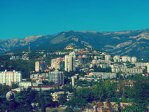 The city of Yalta Stock Photography