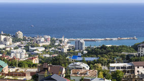 The city of Yalta Stock Photo