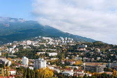 The city of Yalta. Ukraine. Royalty Free Stock Photography