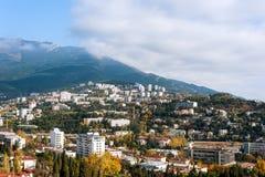 The city of Yalta. Ukraine. Royalty Free Stock Photography
