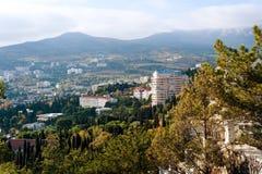 The city of Yalta. Ukraine. Stock Image