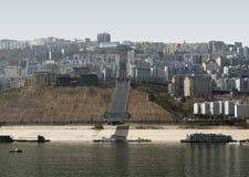 City at Yangtze River Stock Photos