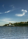 City of Yaroslav from river Volga Royalty Free Stock Photos