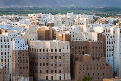 City in Yemen Royalty Free Stock Photos
