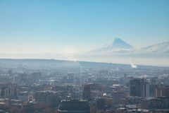 City of Yerevan royalty free stock photography
