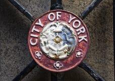 City of York Crest Stock Photo