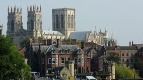 City of York - England stock video footage