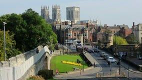 City of York - England stock footage