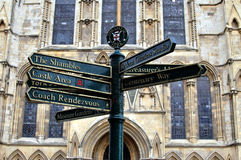The city of York North Yorkshire England Stock Image