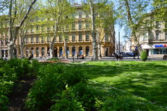 City Zagreb  in Croatia Royalty Free Stock Images