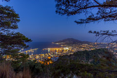 The city of zante island Royalty Free Stock Images