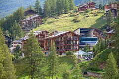 City Zermatt Stock Photography
